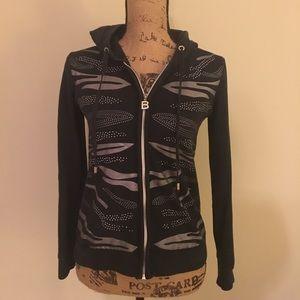 BCBG MaxAzria black hoodie medium